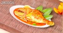 白身魚のトマトソース煮込み
