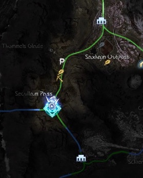 セクルム峠の場所